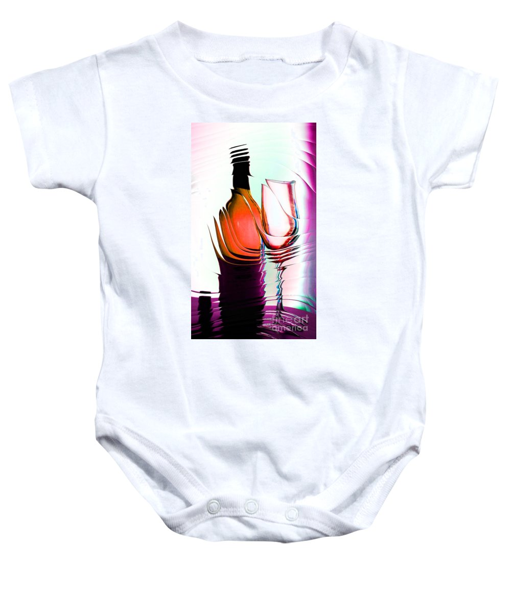 Bottle Baby Onesie featuring the photograph Broken Promise by Donna Bentley