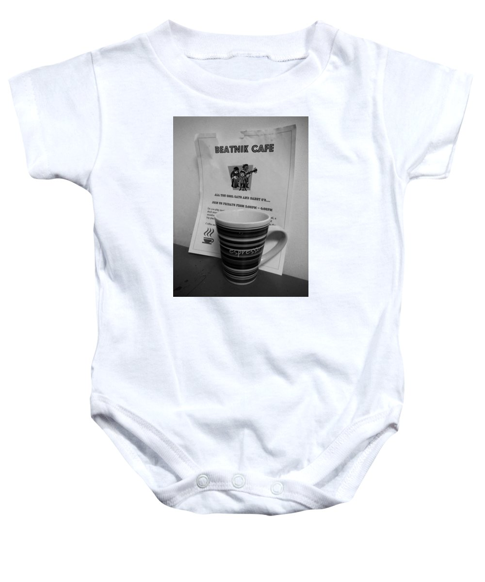 Beatnik Baby Onesie featuring the photograph Calling All Cool Cats by John Smolinski