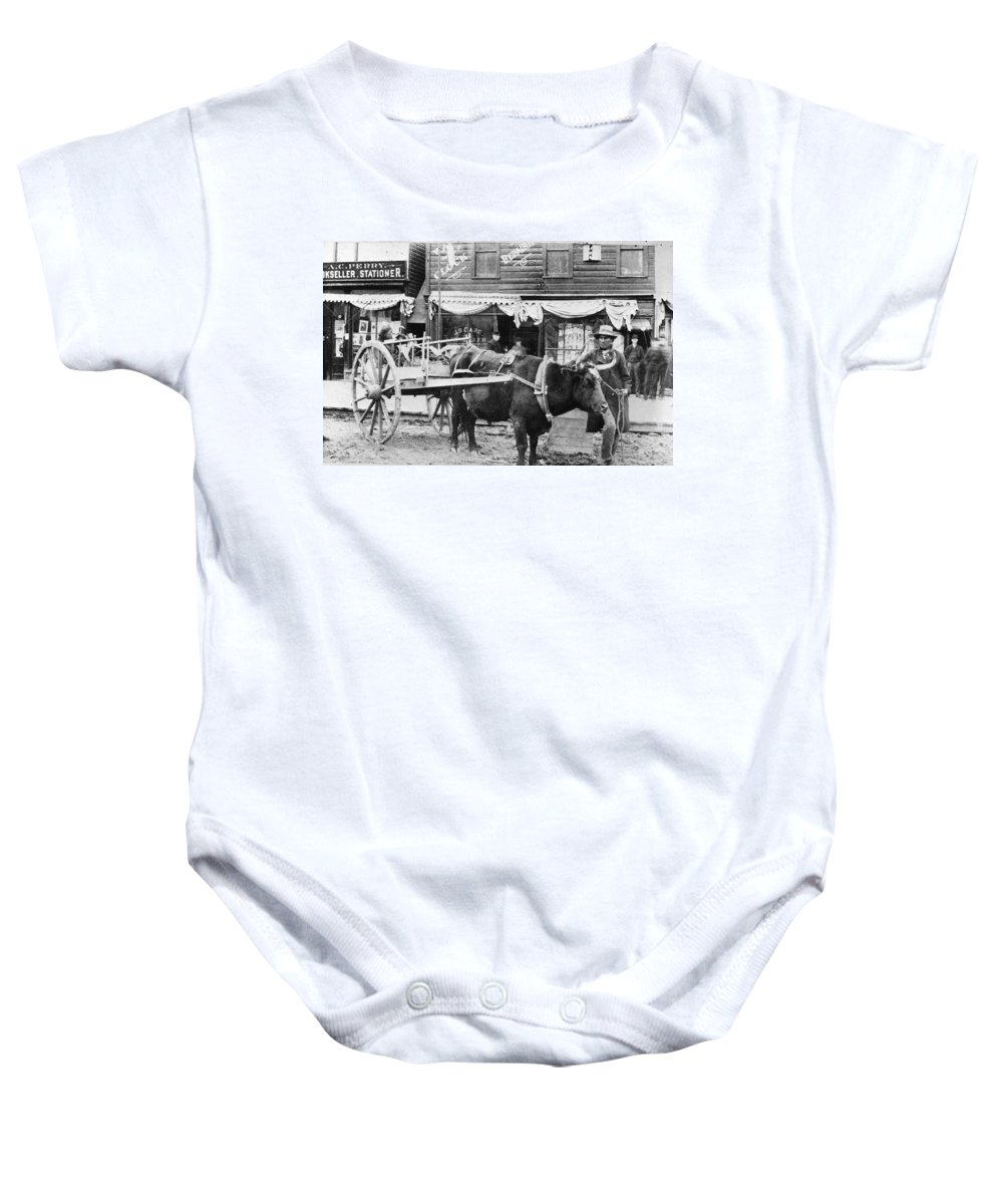 1890 Baby Onesie featuring the photograph Canada: Winnipeg, C1900 by Granger
