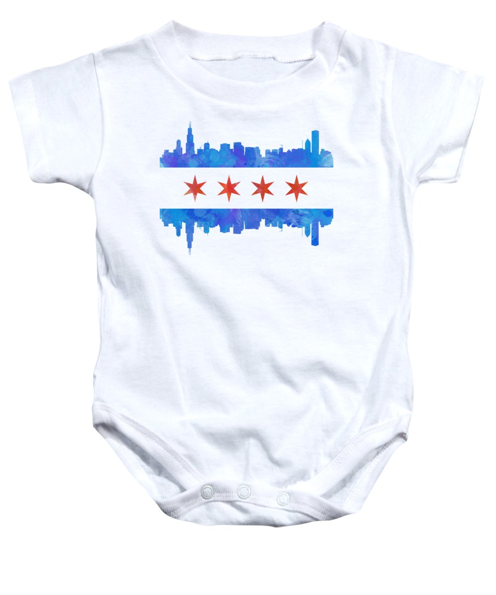 City Scenes Baby Onesies