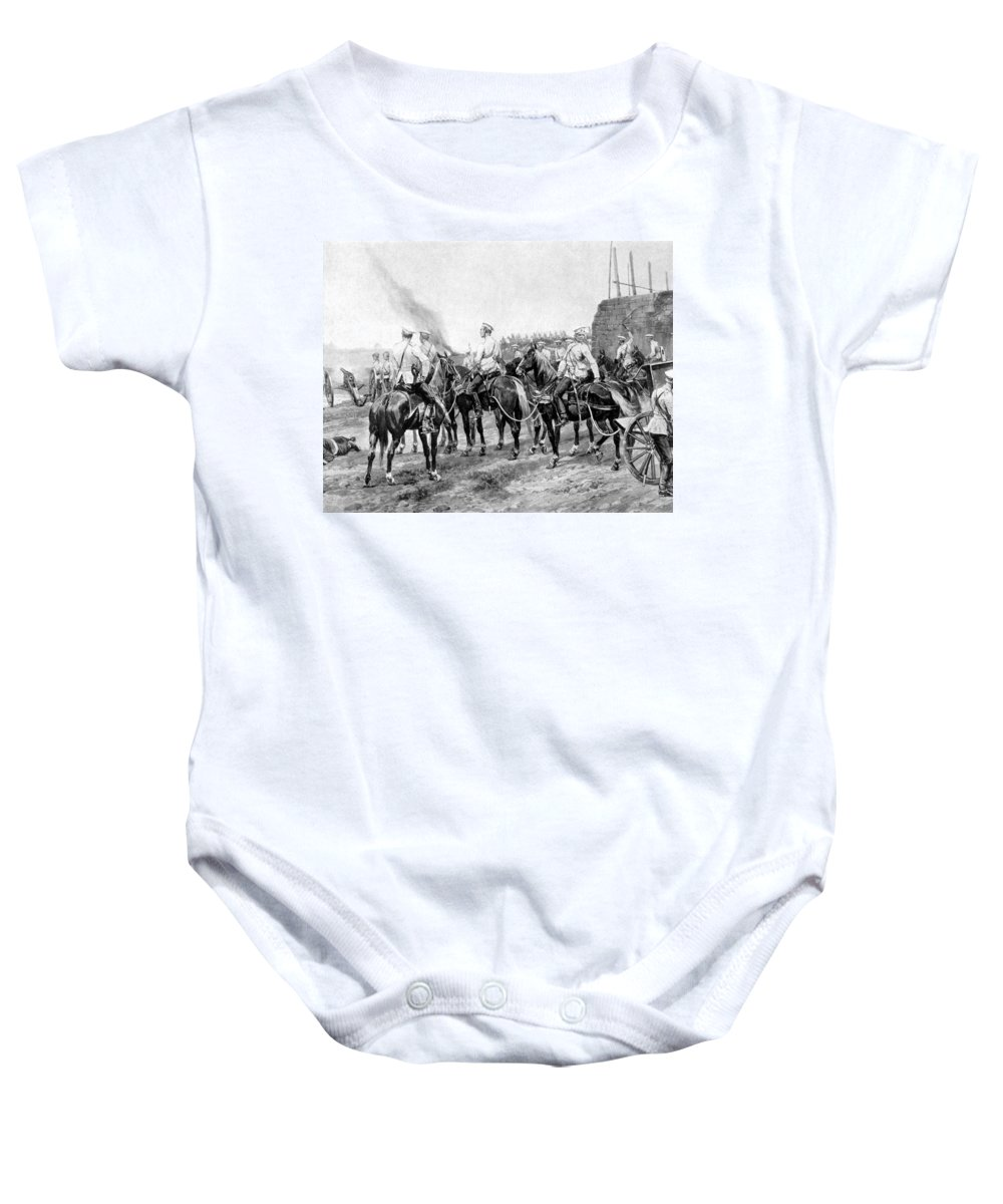 1900 Baby Onesie featuring the photograph China: Boxer Rebellion by Granger