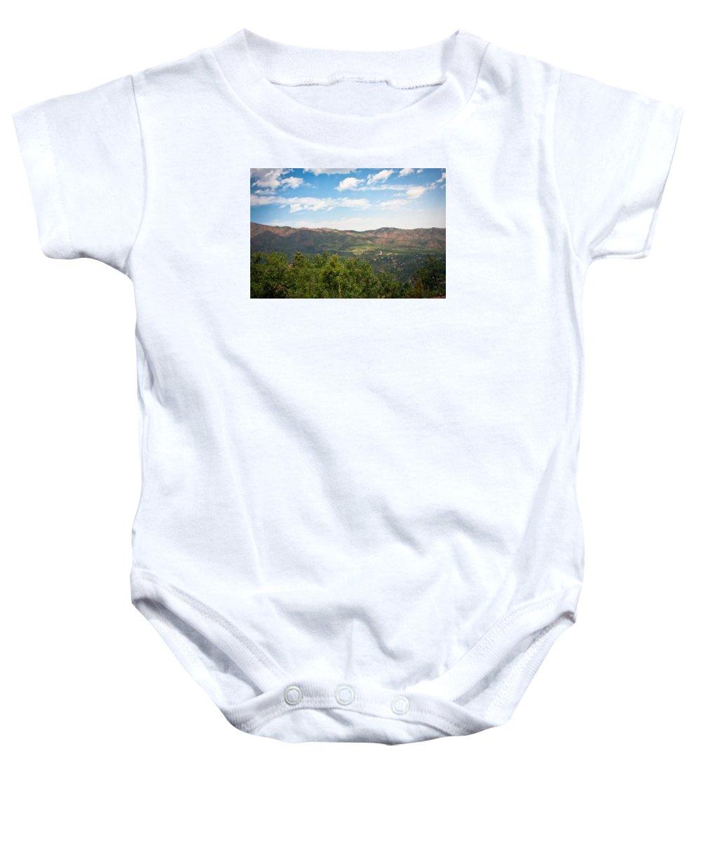 Colorado Baby Onesie featuring the photograph colorado Rockies 9 by Jacob Brewer