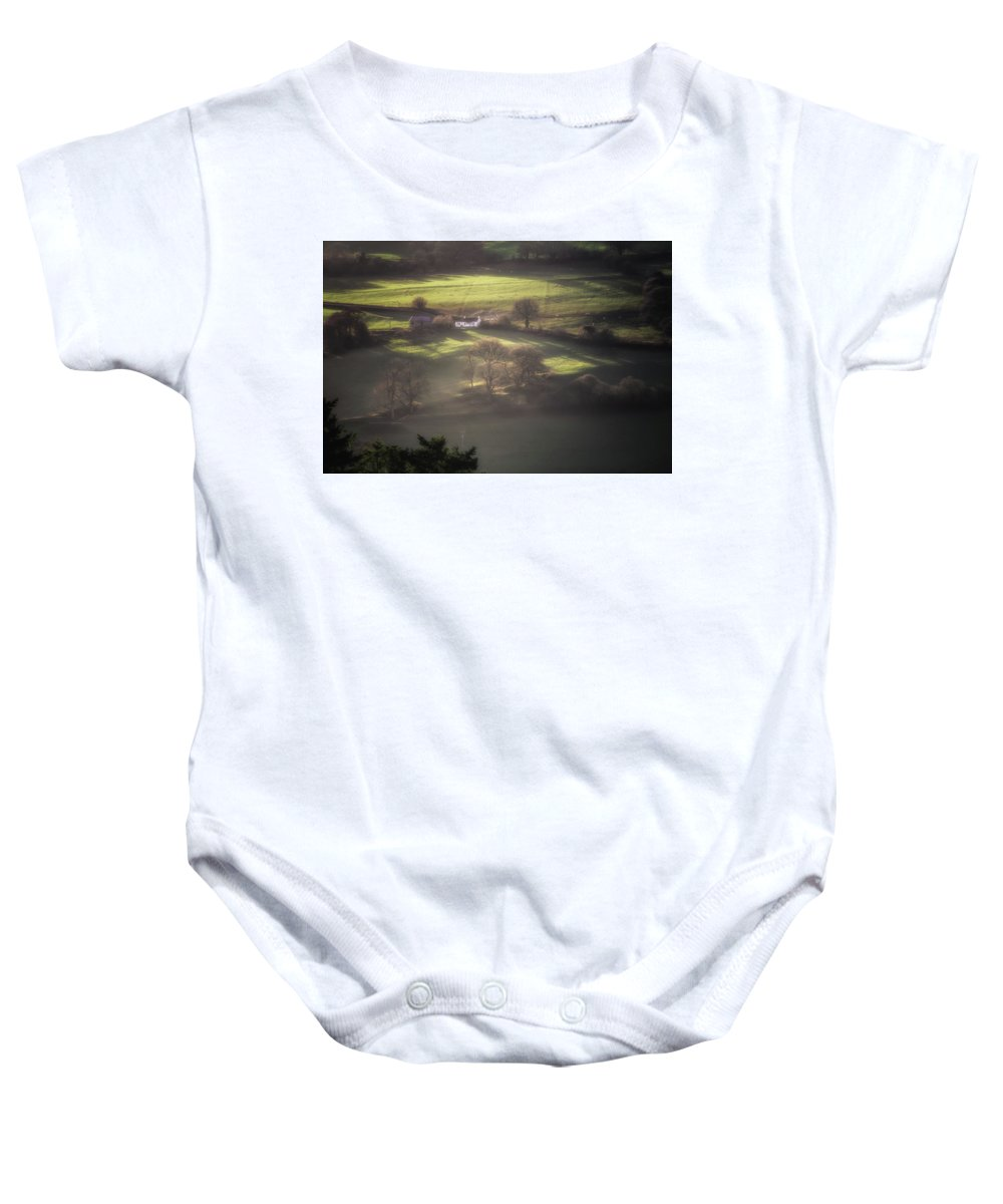 Agriculture Baby Onesie featuring the photograph Countryside Dreaming by Chris Fletcher
