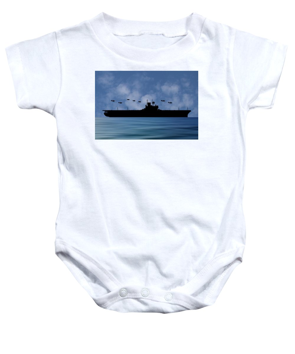 Cus Andrew Jackson Baby Onesie featuring the photograph Cus Andrew Jackson 1936 V1 by Smart Aviation