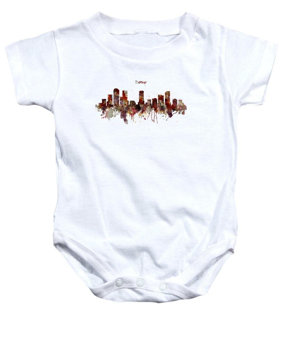Designs Similar to Denver Skyline Silhouette