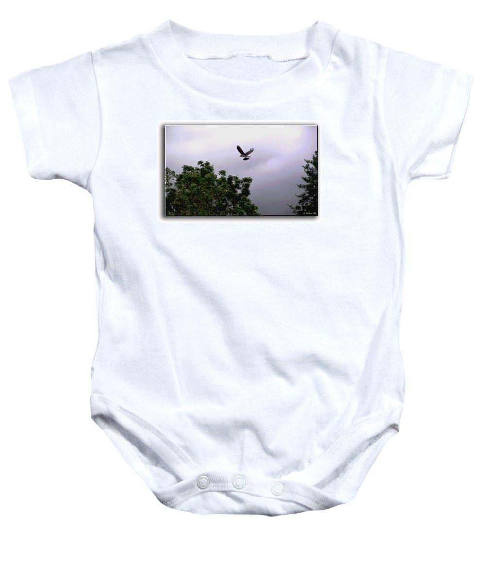 2d Baby Onesie featuring the photograph Dinner by Brian Wallace