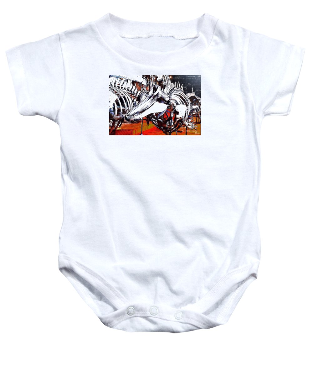Dolphin Baby Onesie featuring the photograph Dolphin Always Smile by Helge