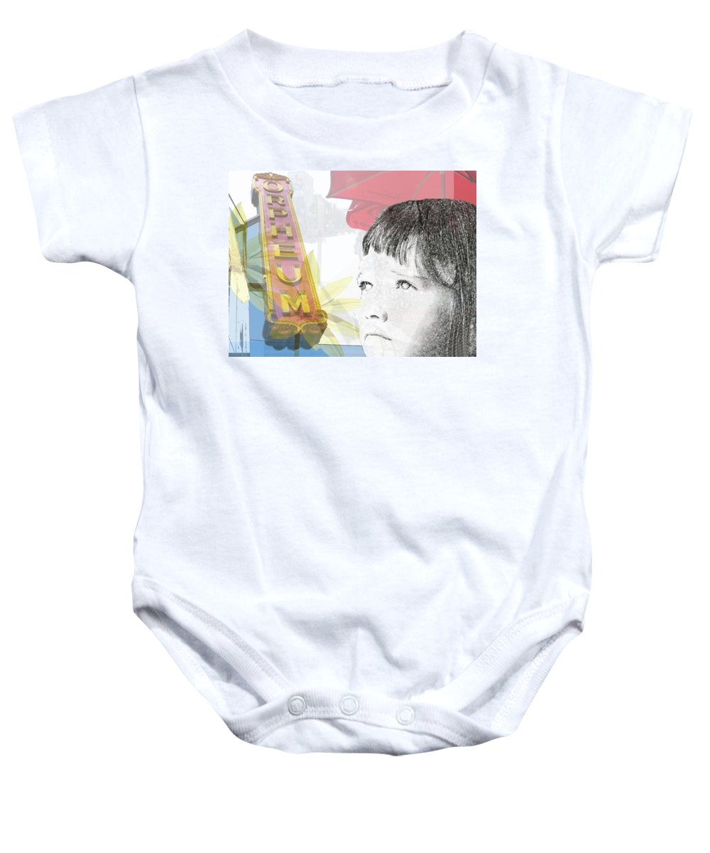 Memphis Baby Onesie featuring the photograph Dreams Of Memphis by Amanda Barcon