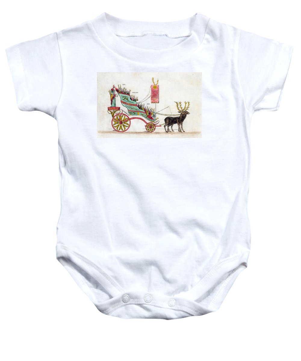 1789 Baby Onesie featuring the photograph Estates General, 1789 by Granger