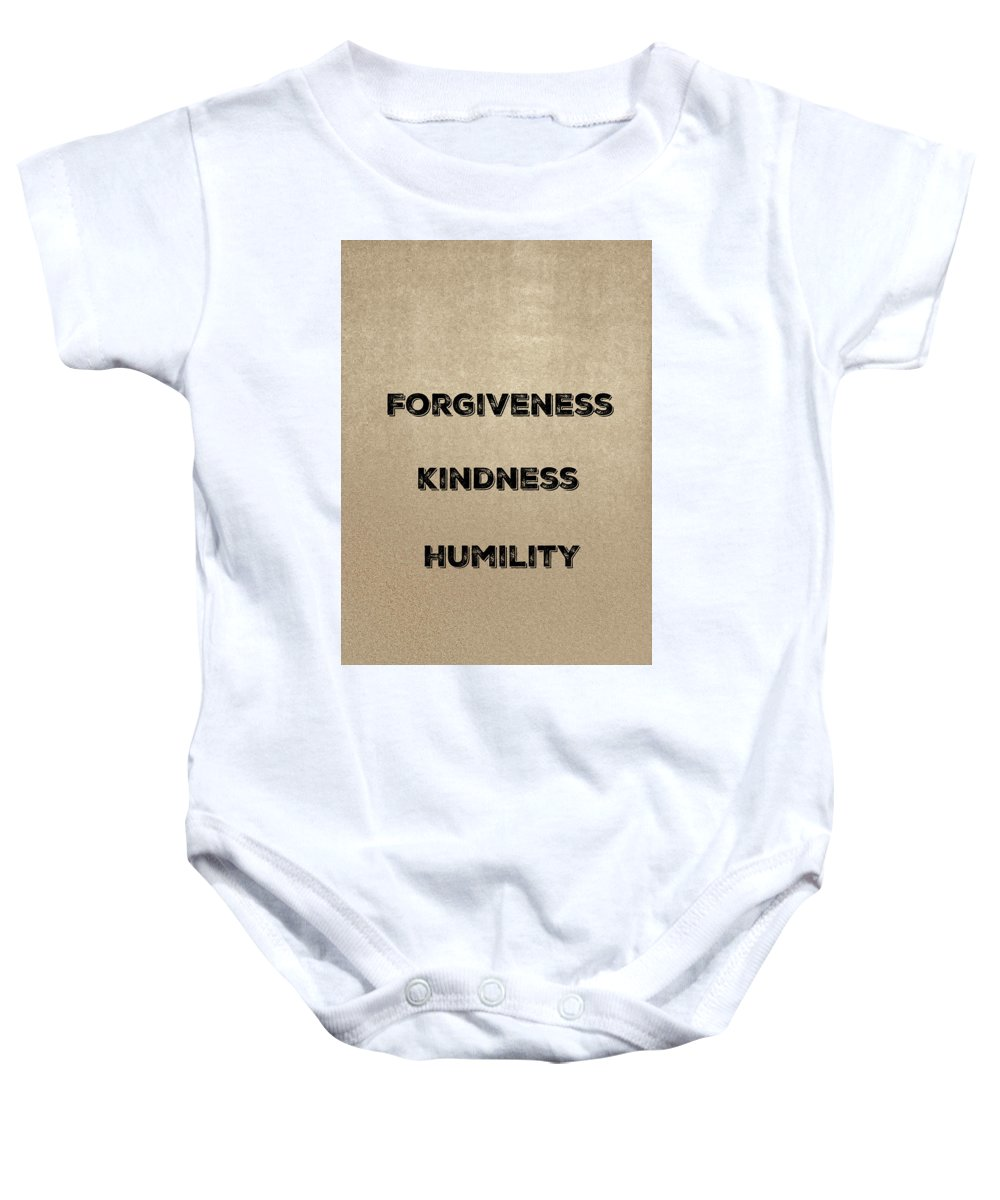 Wisdom Baby Onesie featuring the photograph F K H by Joseph S Giacalone