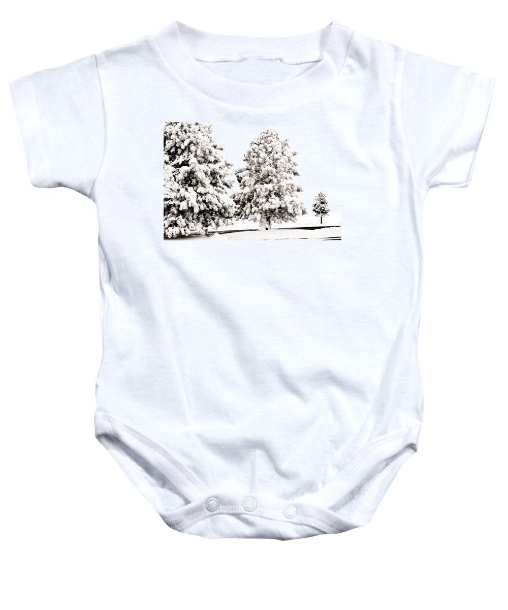 Trees Baby Onesie featuring the photograph Family Of Trees by Marilyn Hunt