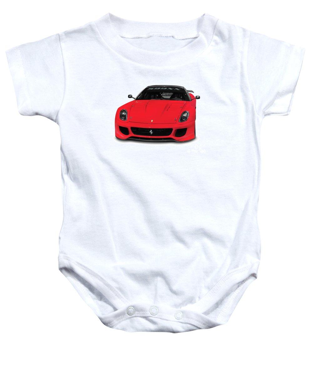 Ferrari Baby Onesie featuring the photograph Ferrari 599xx by Oleksiy Maksymenko