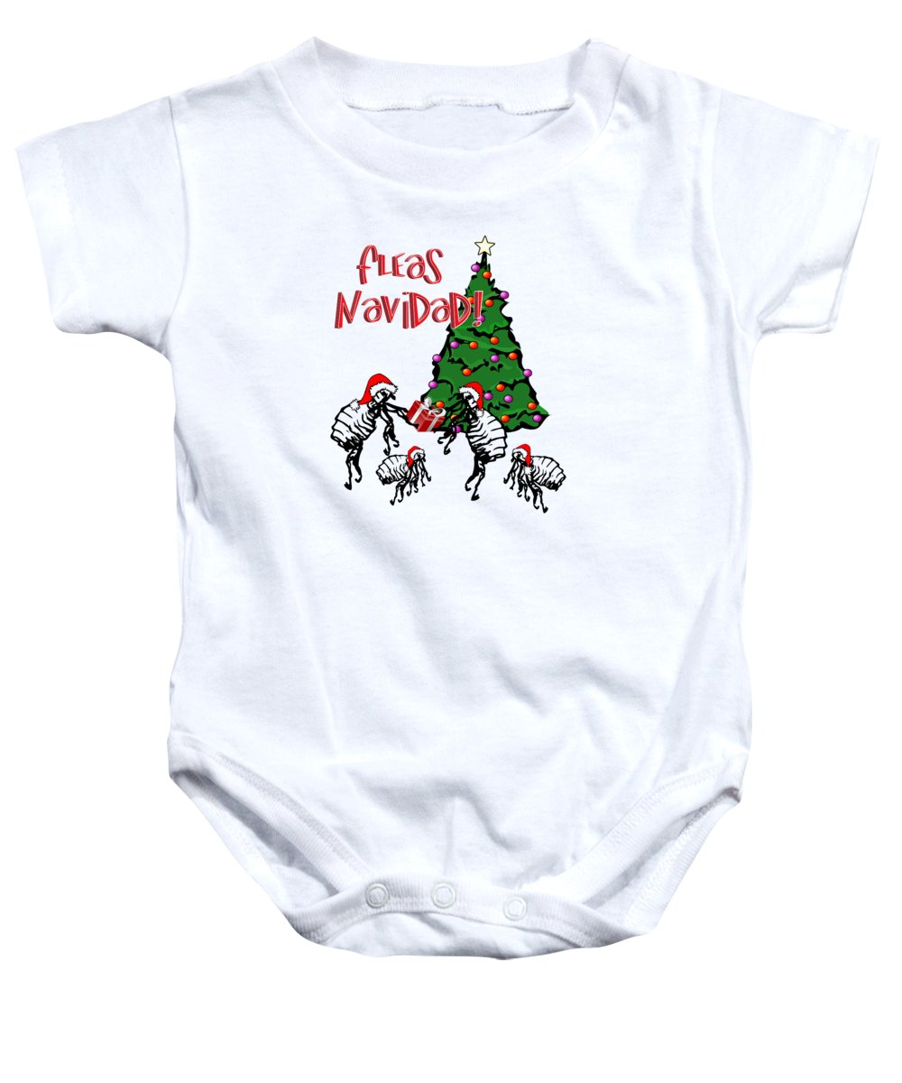 Fleas Navidad Onesie For Sale By Gravityx9 Designs