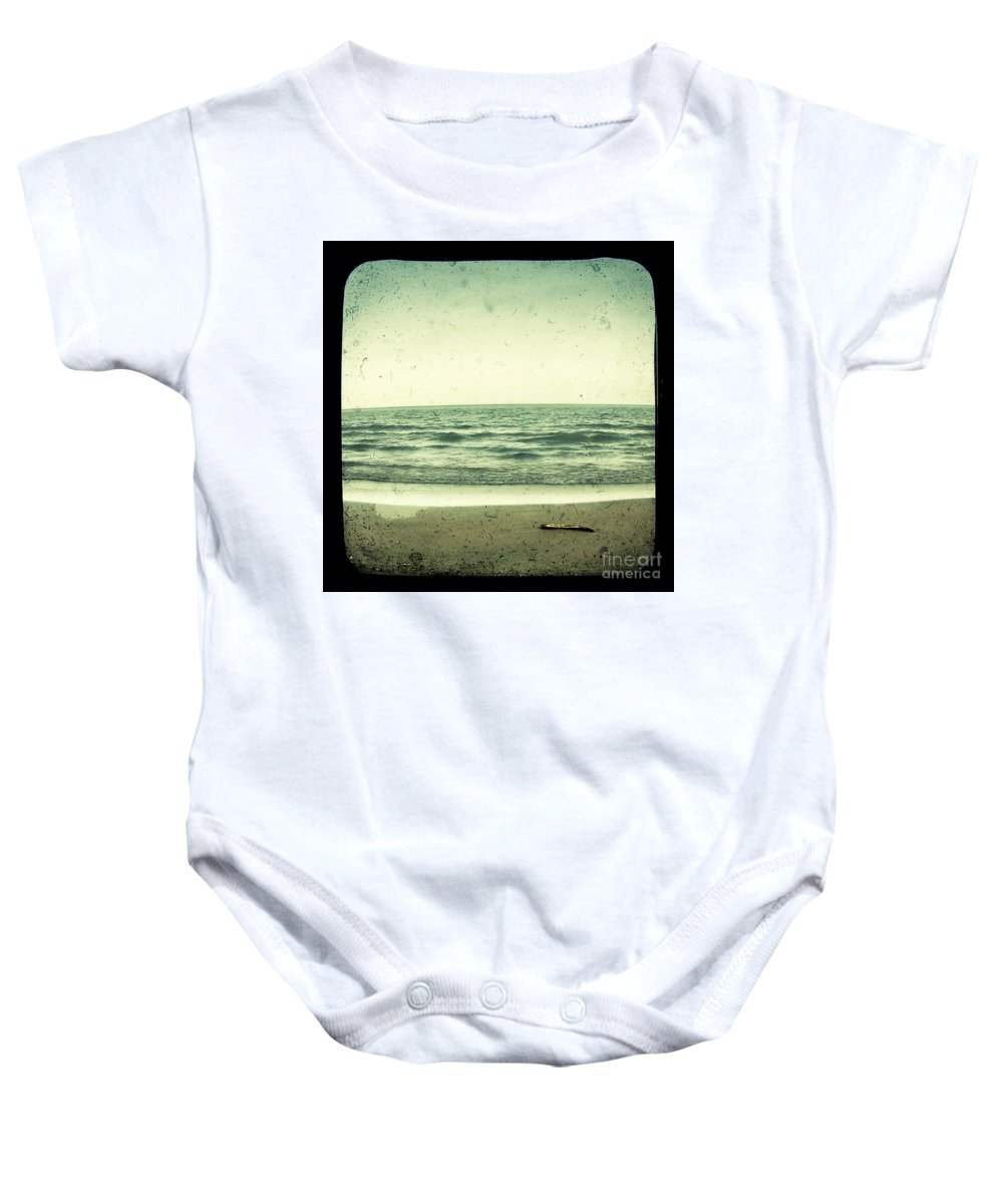Ttv Baby Onesie featuring the photograph Forget Yesterday by Dana DiPasquale