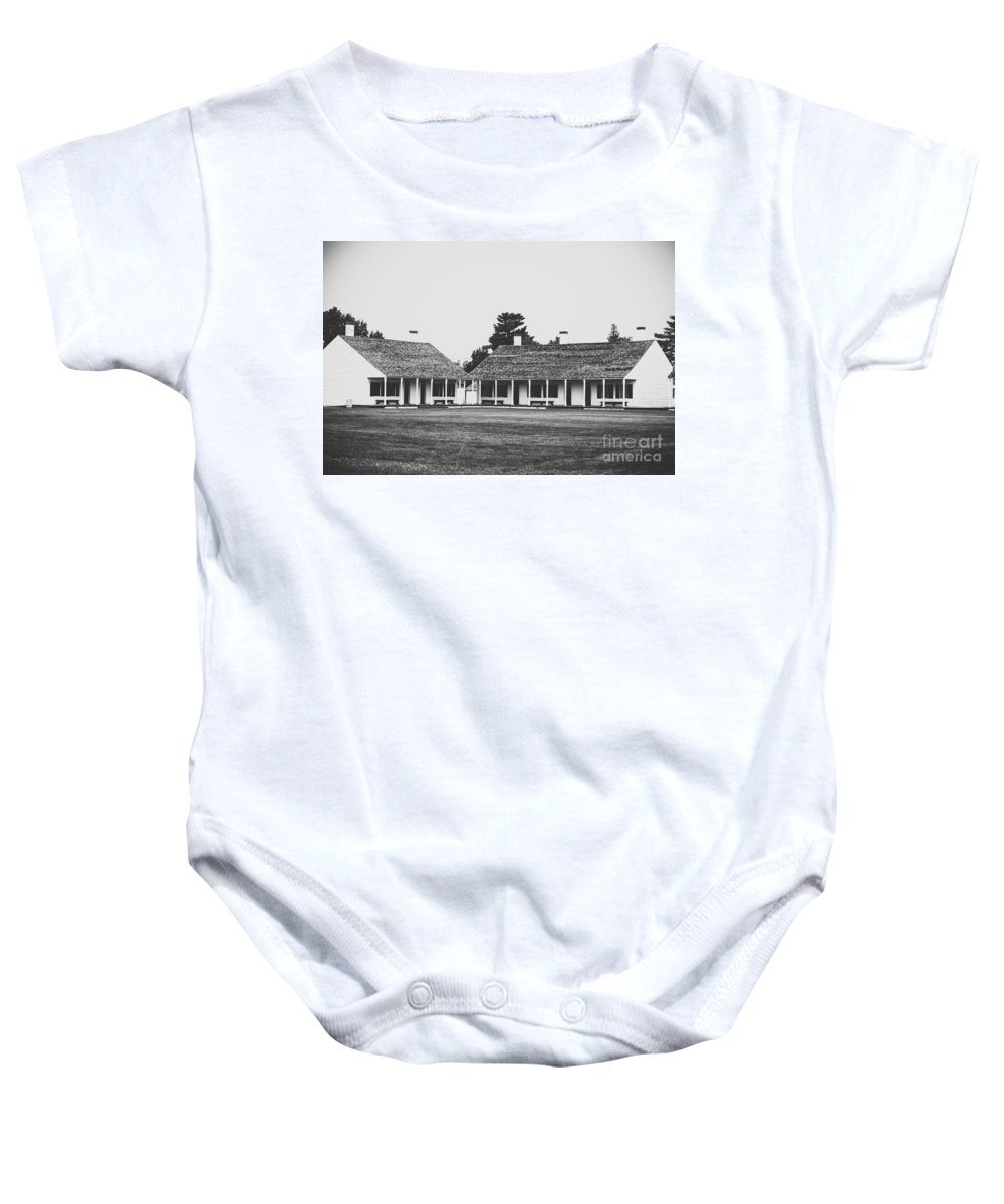 Fort Baby Onesie featuring the photograph Fort Living by Wesley Farnsworth