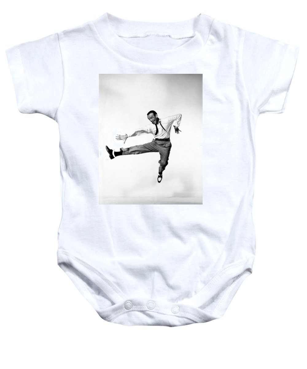 Publicity Photo Baby Onesie featuring the photograph Fred Astaire In Daddy Long Legs 1955 by Mountain Dreams