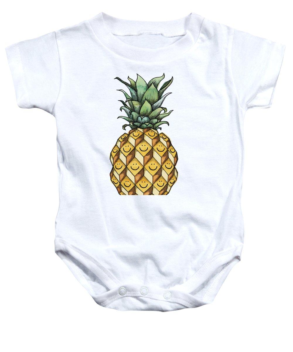 Pineapple Baby Onesies
