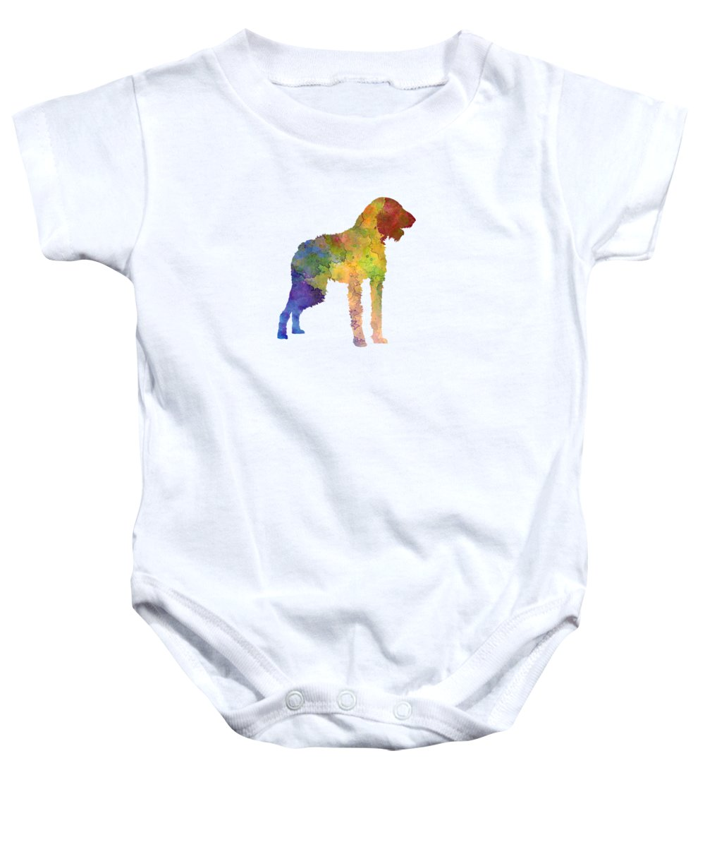 German Wirehaired Pointer Baby Onesies | Pixels
