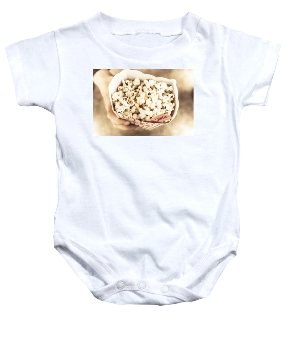 Entertainment Baby Onesie featuring the photograph Golden Era Of Entertainment by Jorgo Photography - Wall Art Gallery