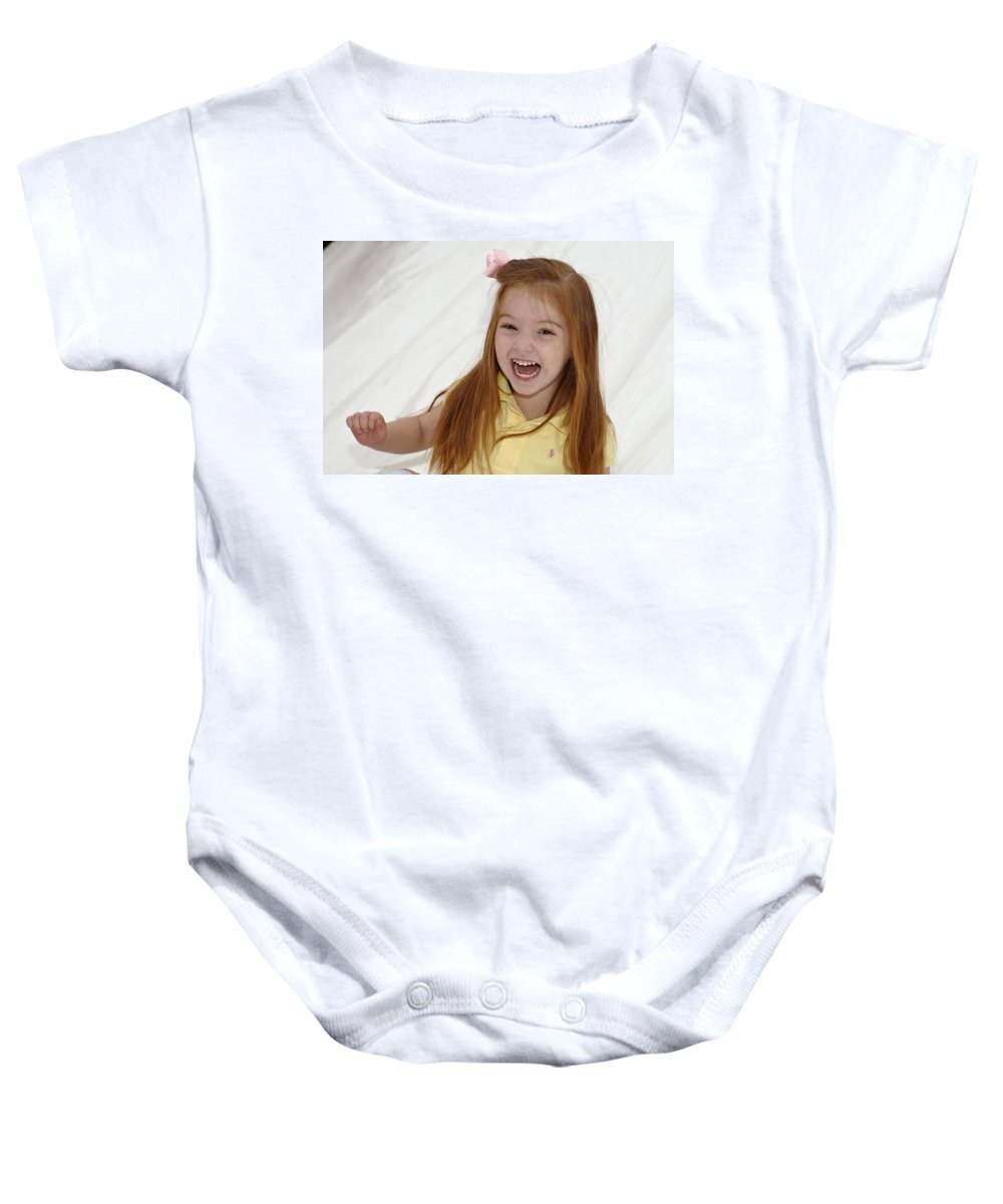 Happy Contest Baby Onesie featuring the photograph Happy Contest 6 by Jill Reger
