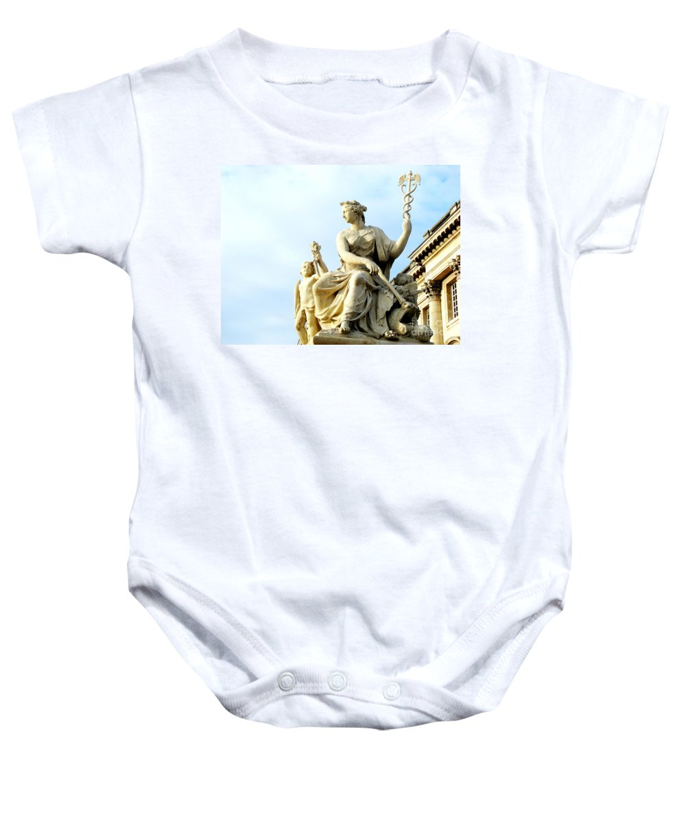 Statues Baby Onesie featuring the photograph Healing by Amanda Barcon