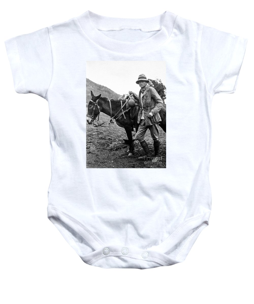 1911 Baby Onesie featuring the photograph Hiram Bingham (1875-1956) by Granger