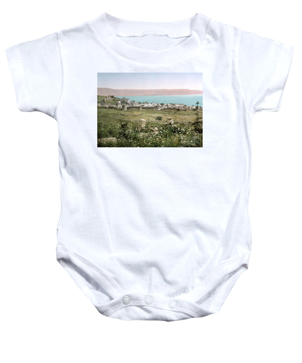 1895 Baby Onesie featuring the photograph Holy Land: Tiberias by Granger