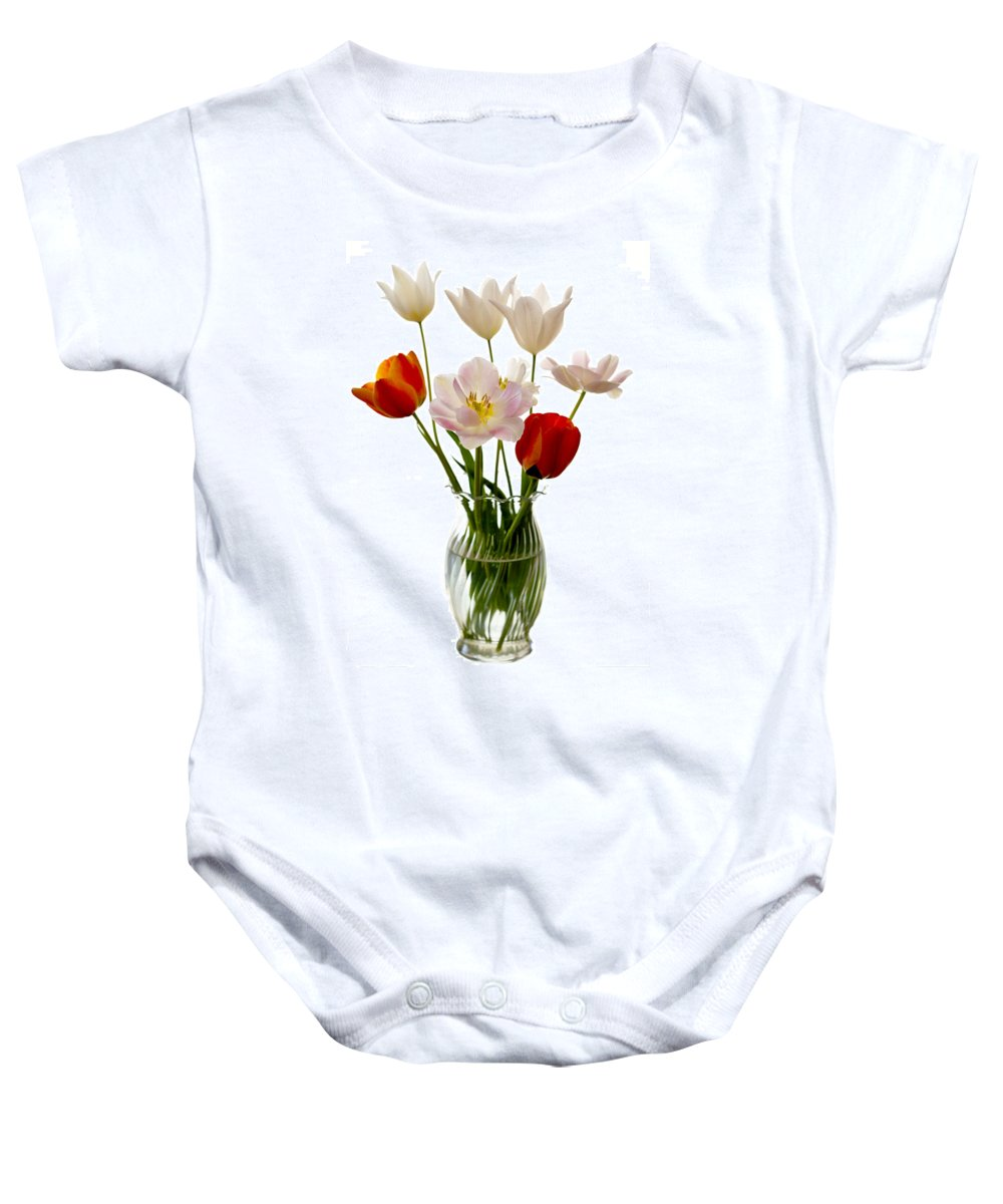 Flower Baby Onesie featuring the photograph Home Grown by Marilyn Hunt