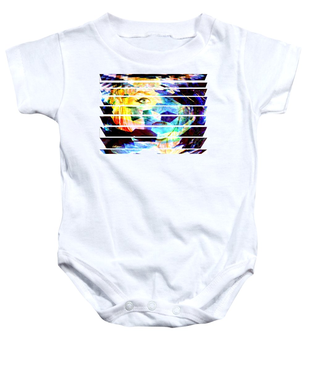 Woman Baby Onesie featuring the digital art Horizontal View by Seth Weaver