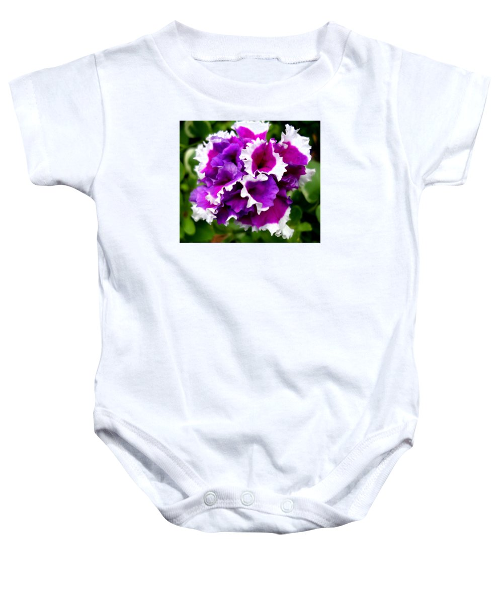 Double Baby Onesie featuring the photograph Imperial by Michiale Schneider