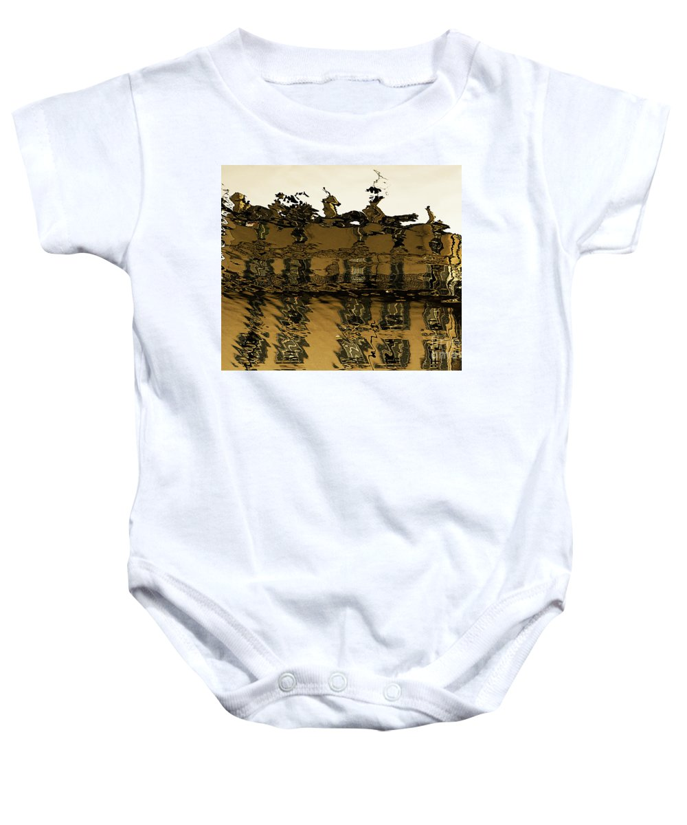 Cities Baby Onesie featuring the photograph In The City Of Rains And Fogs # 1. by Alexander Vinogradov