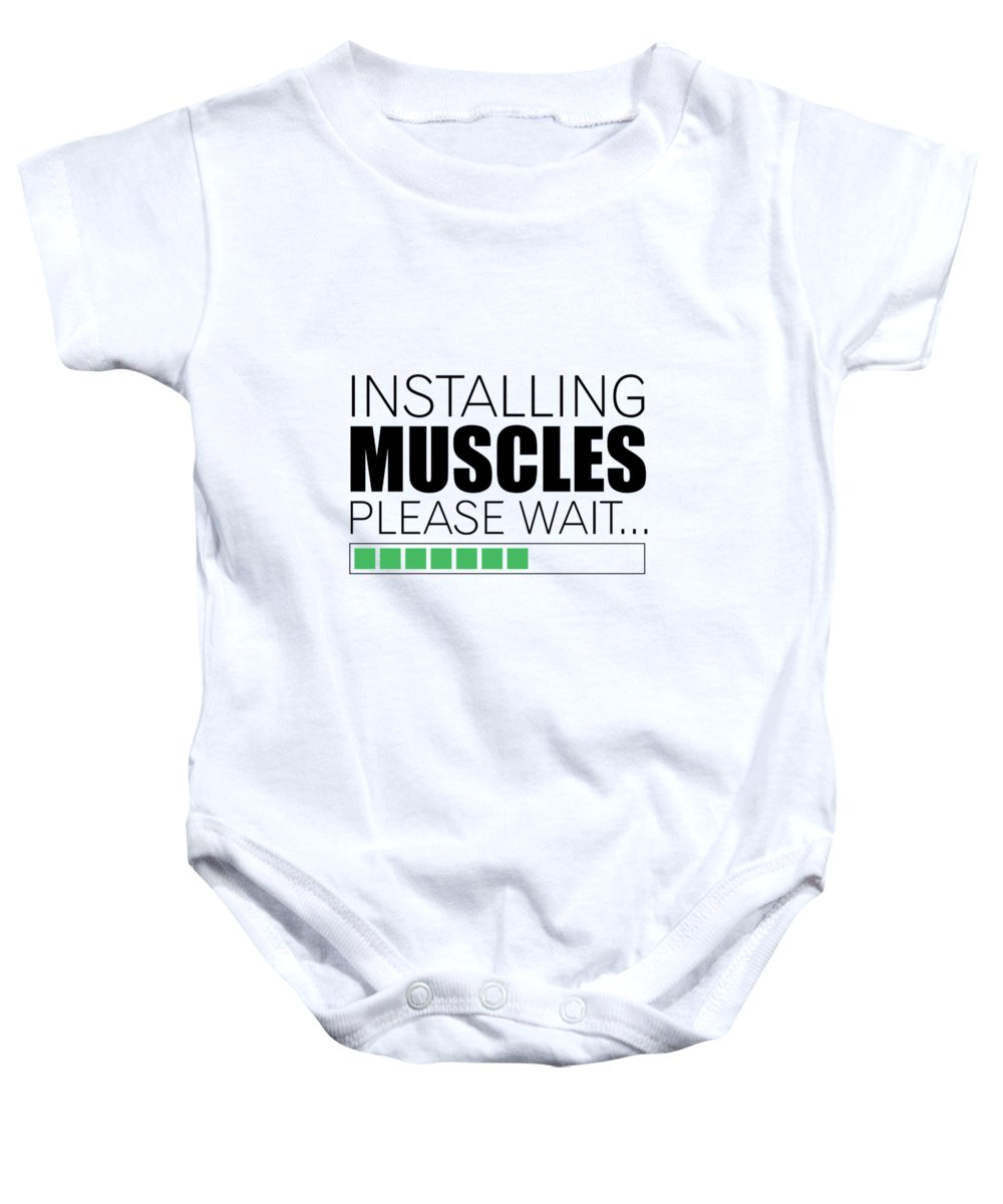 Fitness Baby Onesies