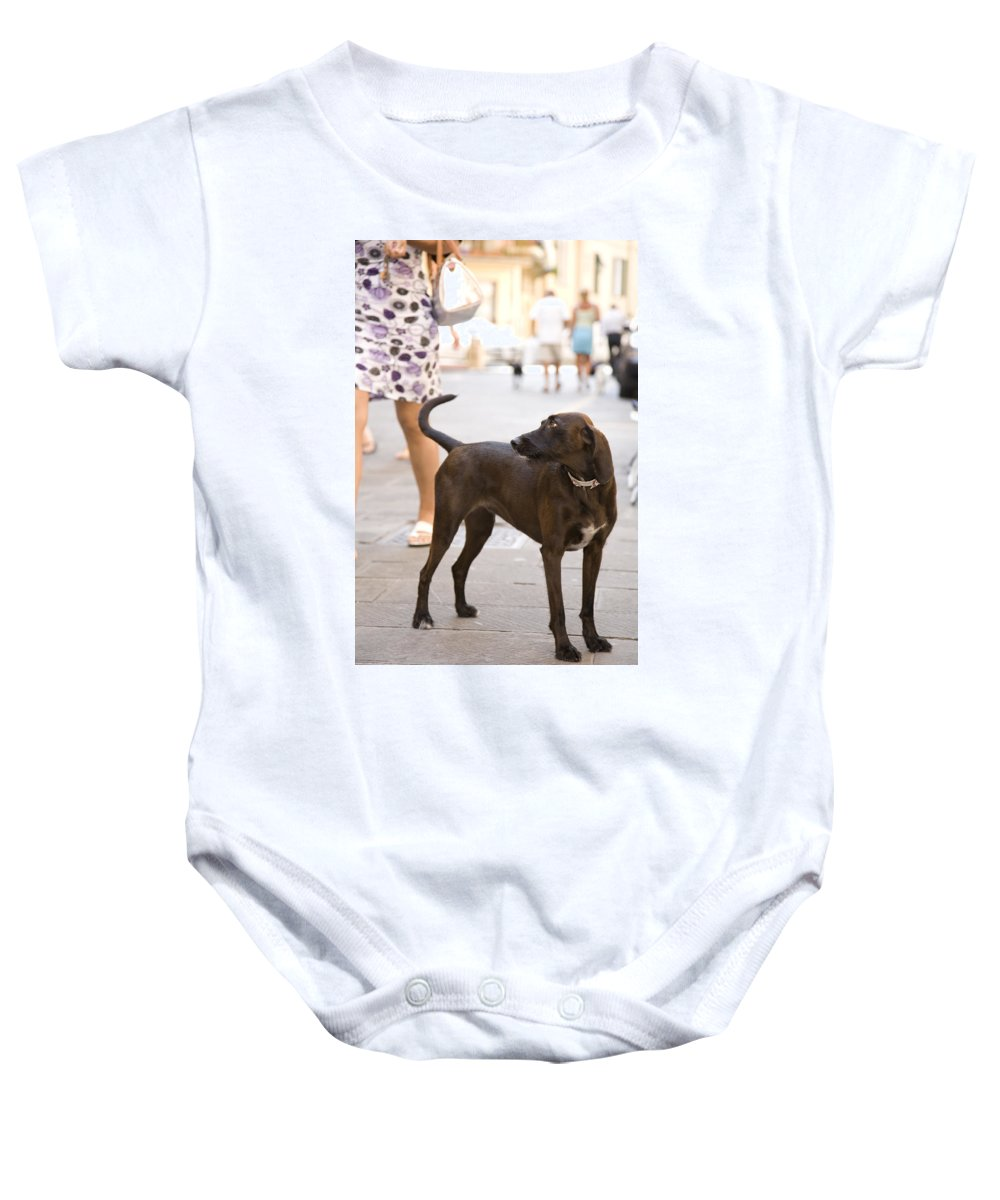 Travel Baby Onesie featuring the photograph Italia by Ian Middleton
