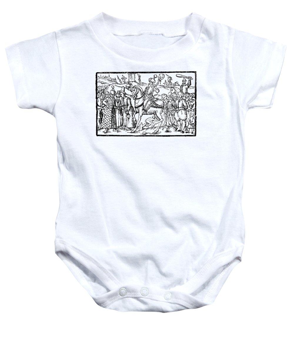 1582 Baby Onesie featuring the photograph Ivan Iv Vasilevich (1530-1584) by Granger
