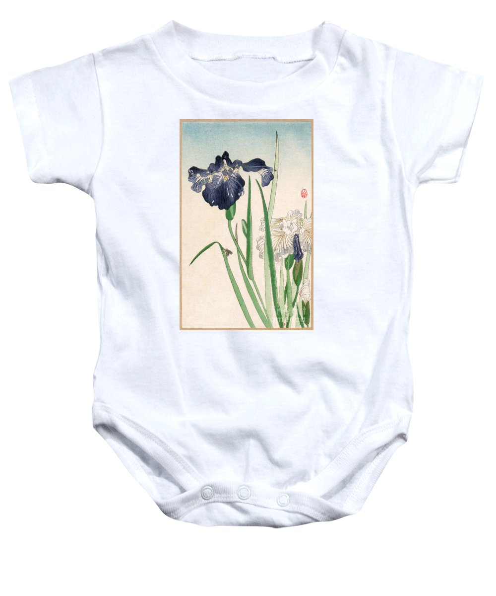 20th Century Baby Onesie featuring the photograph Japanese Irises by Granger
