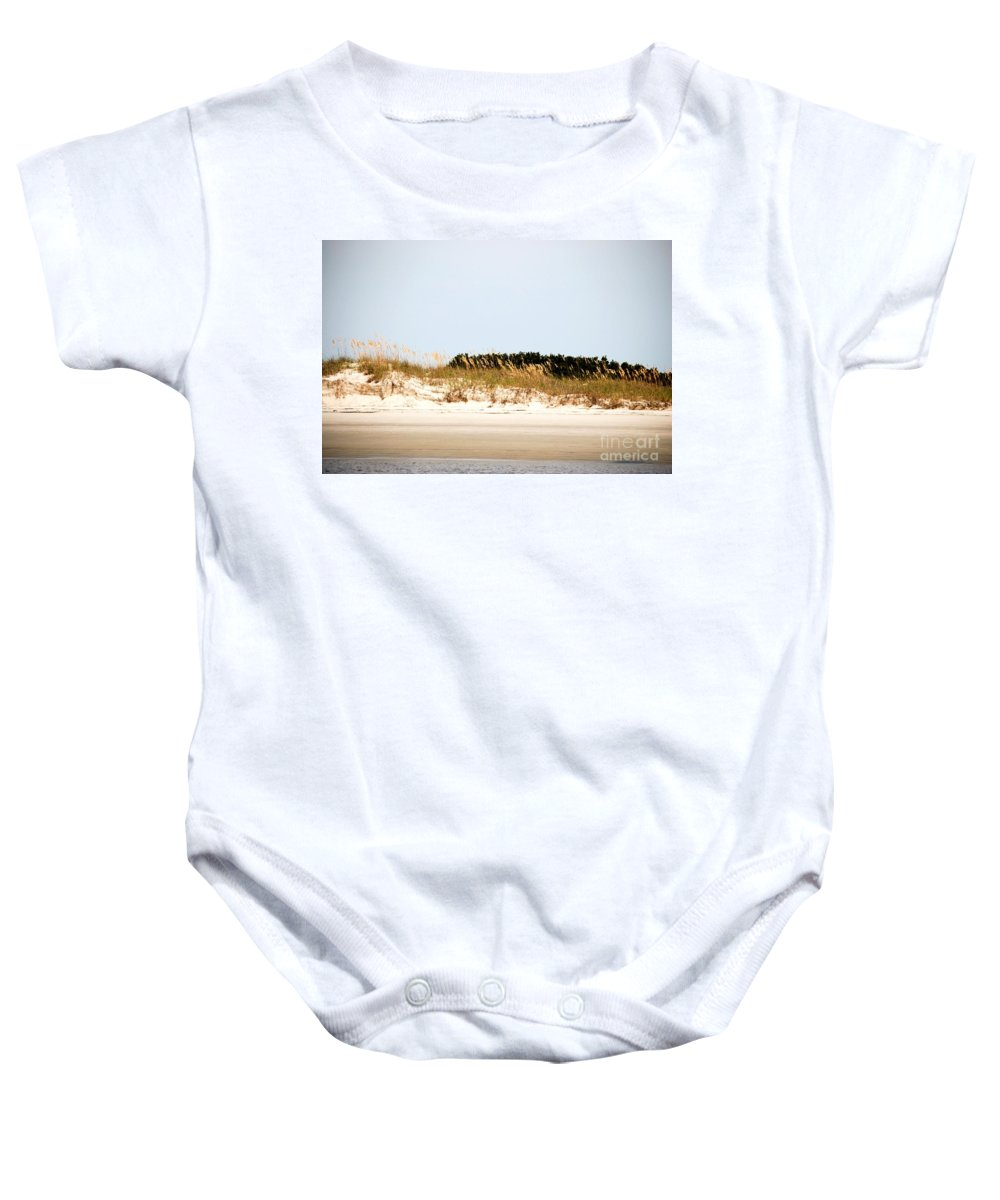 Jekyll Island Baby Onesie featuring the photograph Jekyll From The Water by Katherine W Morse