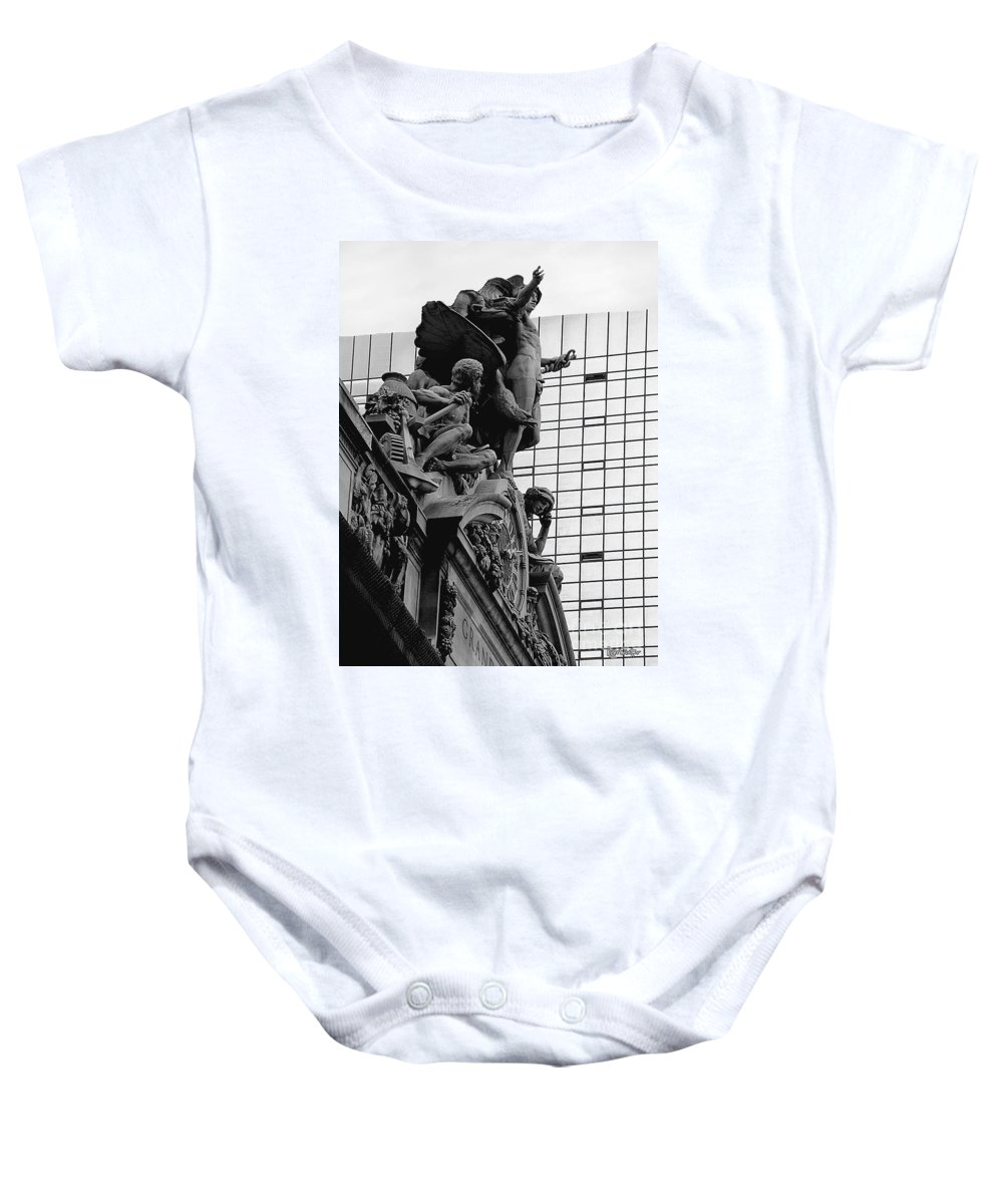 Carving Baby Onesie featuring the photograph Jewel In The Crown by RC DeWinter