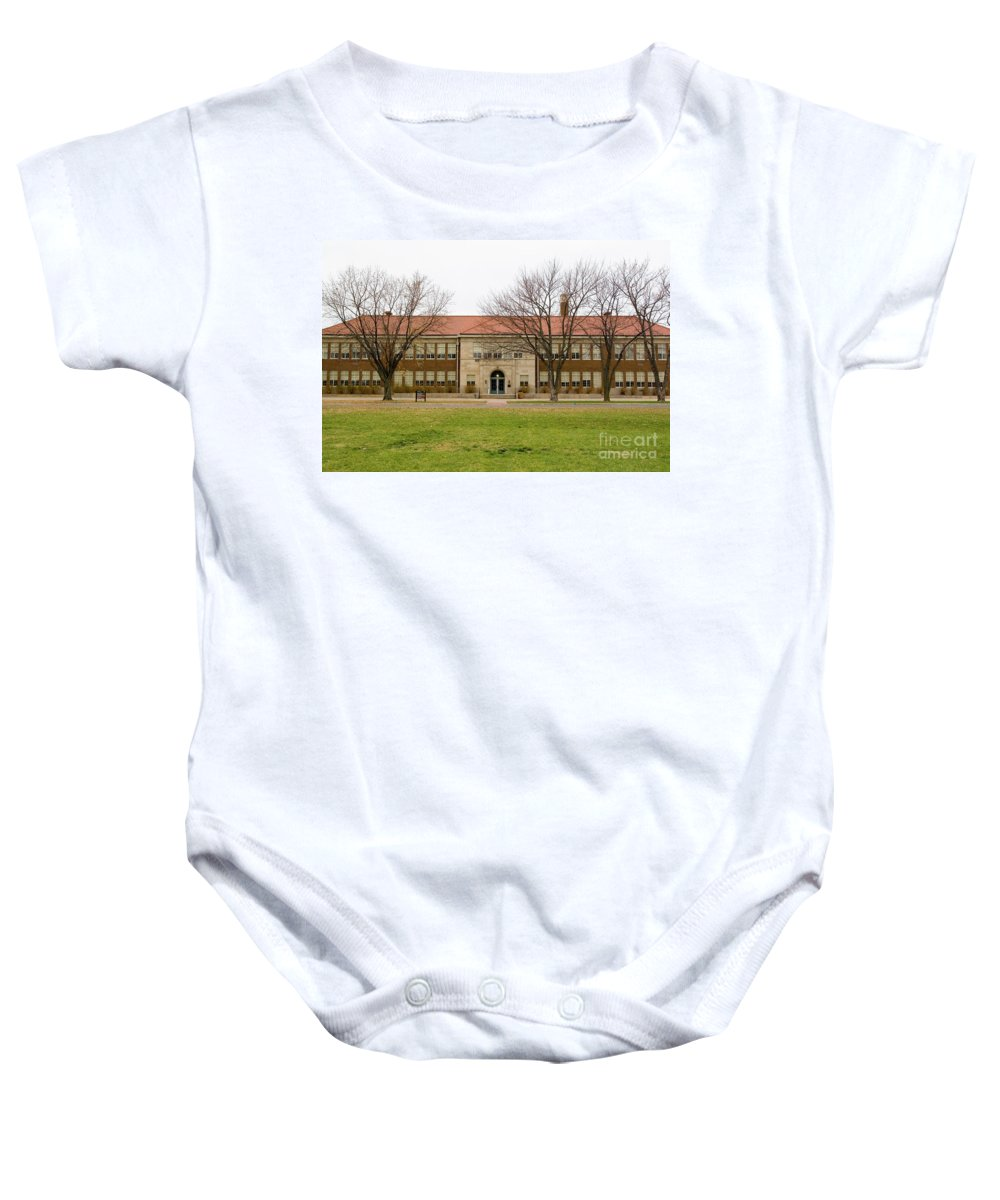 Psi Baby Onesie featuring the photograph Kansas Ks Usa 4 by Ohad Shahar
