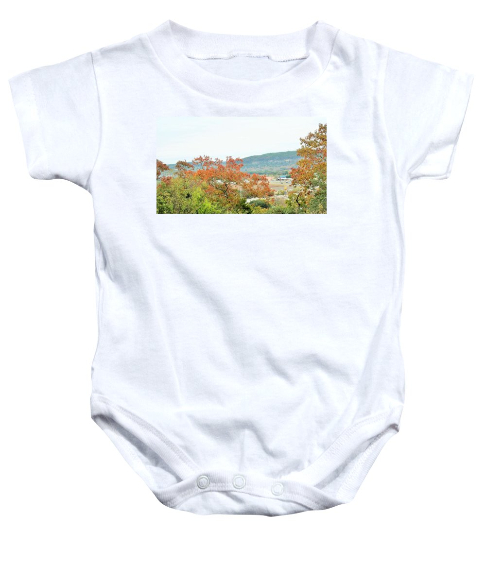 Baby Onesie featuring the photograph Land 035 by Jeff Downs
