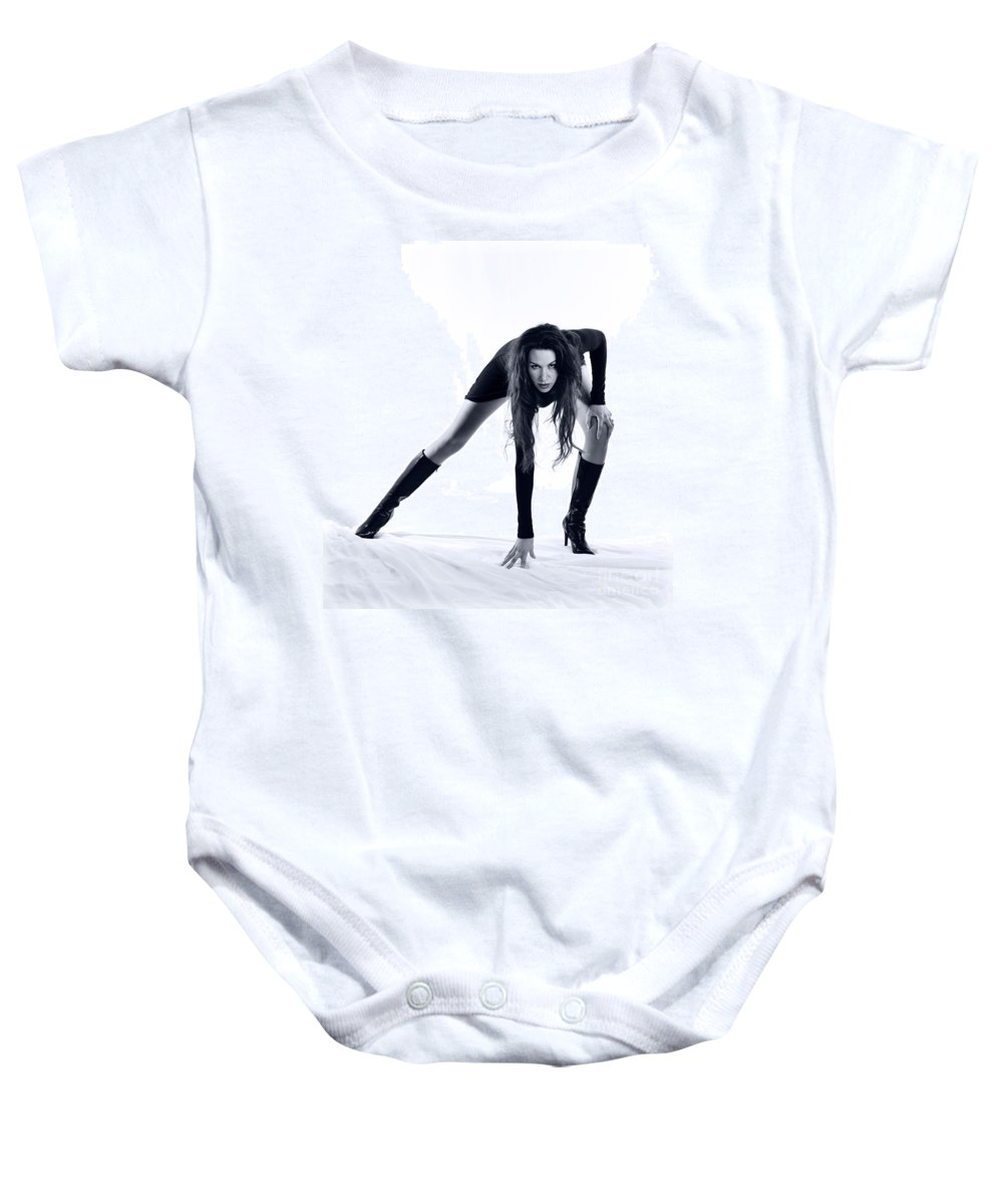 Long Legs Baby Onesie featuring the photograph Legs by Scott Sawyer