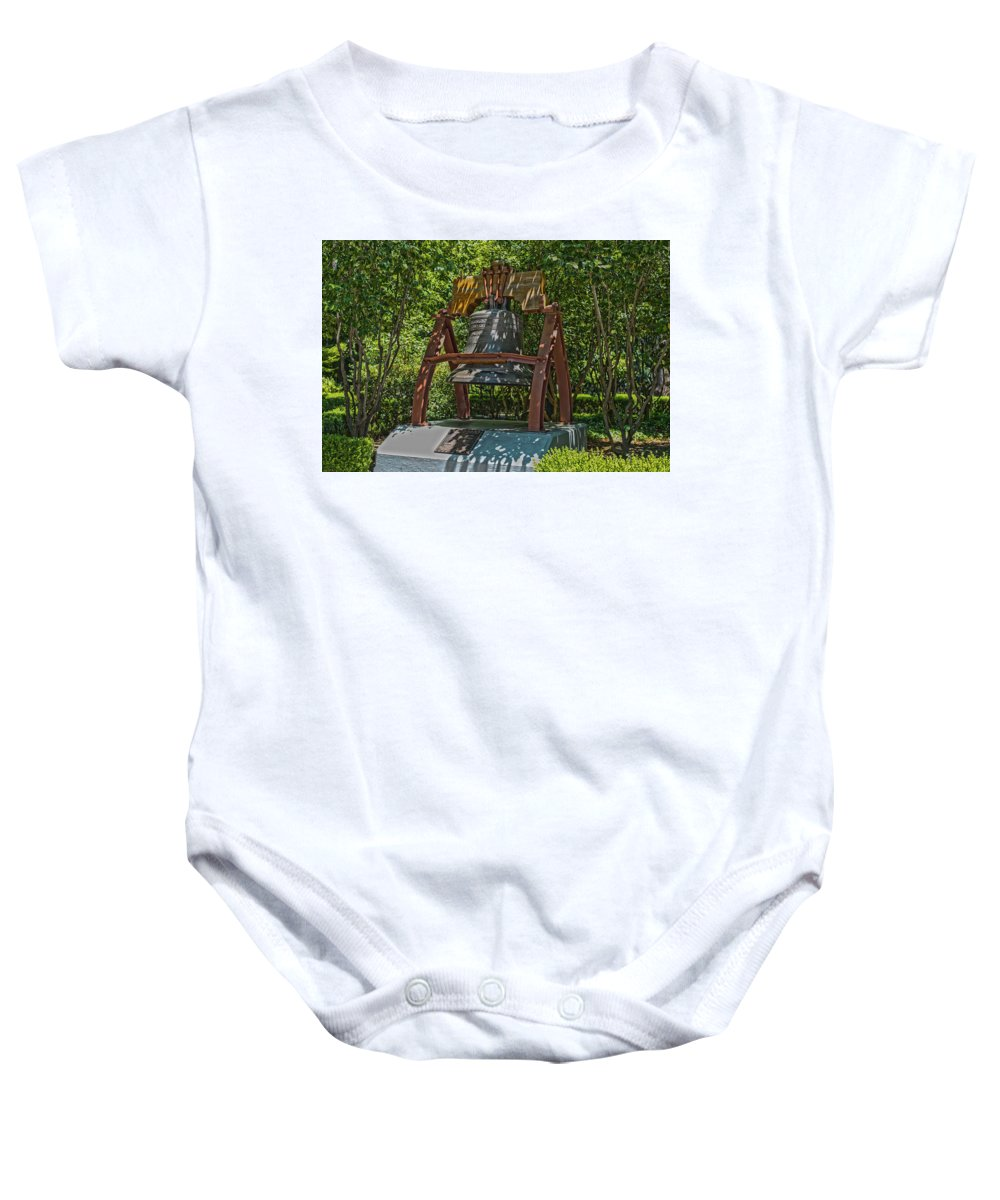 Bell Baby Onesie featuring the photograph Liberty Bell by Richard White
