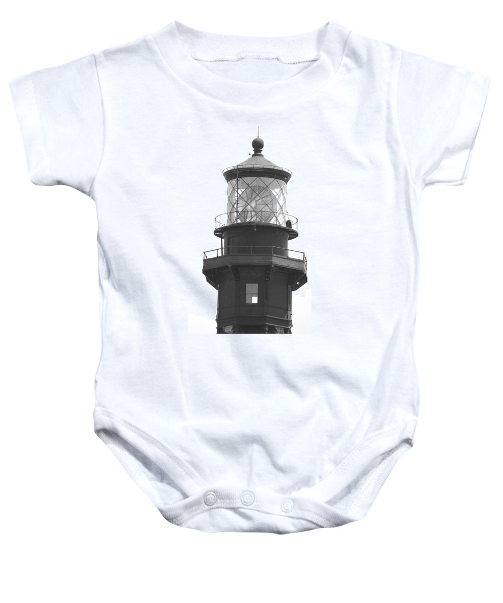 Landscape Baby Onesie featuring the photograph Lighthouse Light by Rob Hans