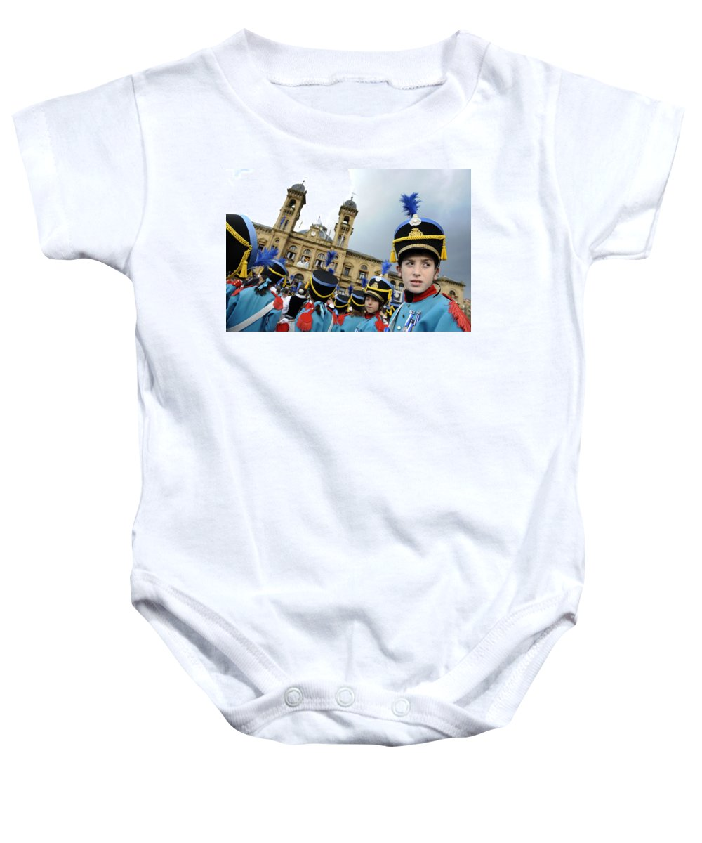 Spain Baby Onesie featuring the photograph Little Soldiers Iv by Rafa Rivas