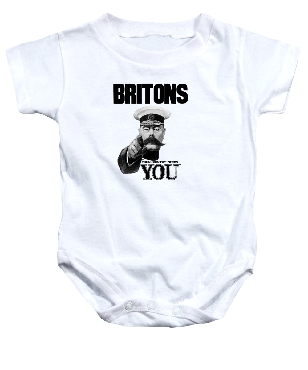 Lord Kitchener - Britons Your Country Needs You Onesie for Sale by ...