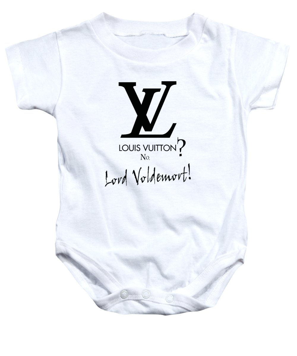 a66f70632 Lord Baby Onesie featuring the digital art Lord Voldemort, Everywhere by  Katy Ar