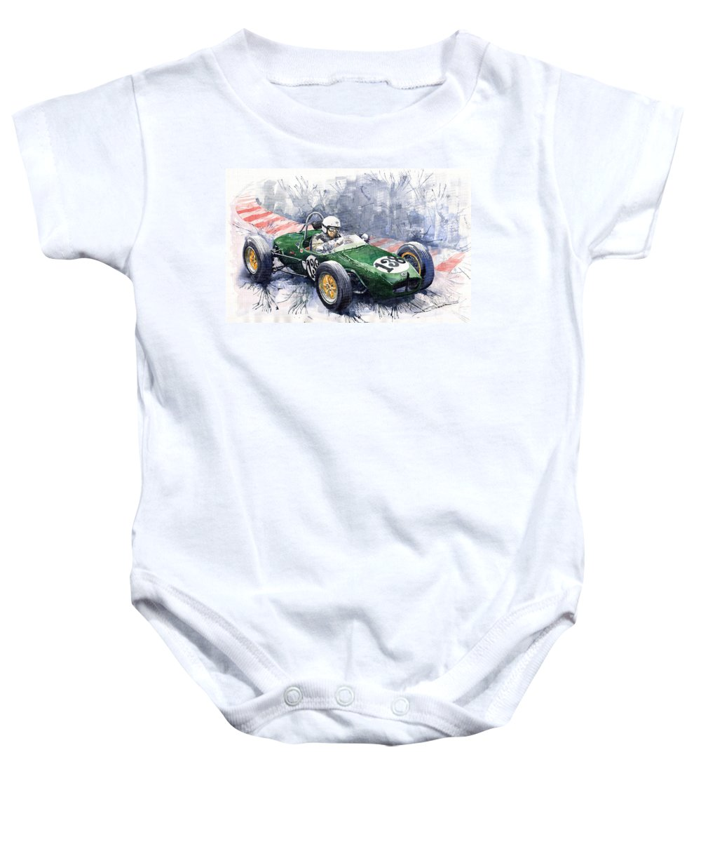 Lotus 18 F2 Onesie for Sale by Yuriy Shevchuk