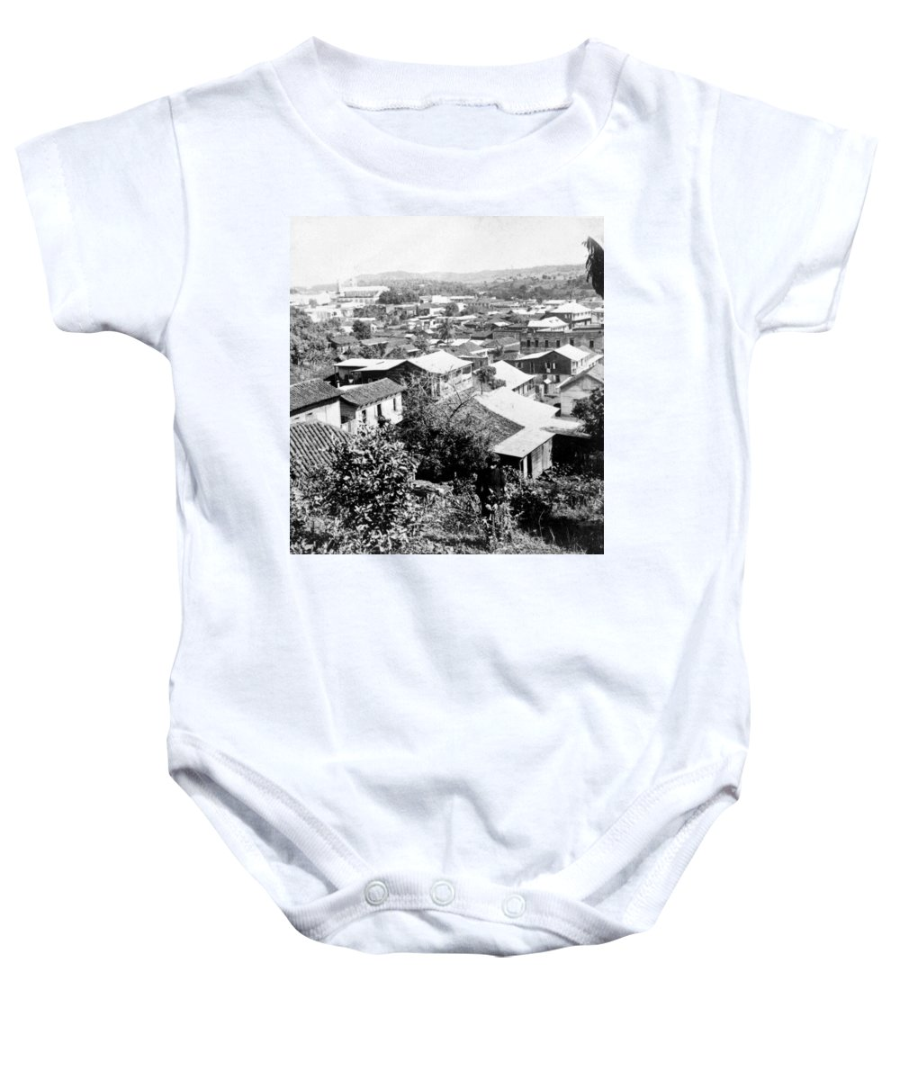 Mayaguez Baby Onesie featuring the photograph Mayaguez - Puerto Rico - C 1900 by International Images