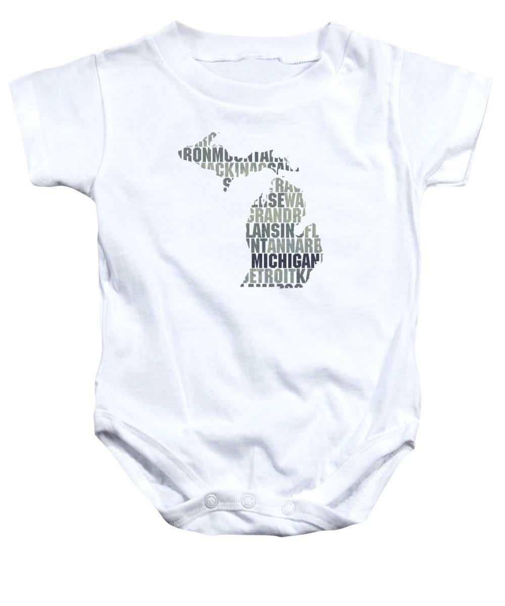 Michigan State Baby Onesies