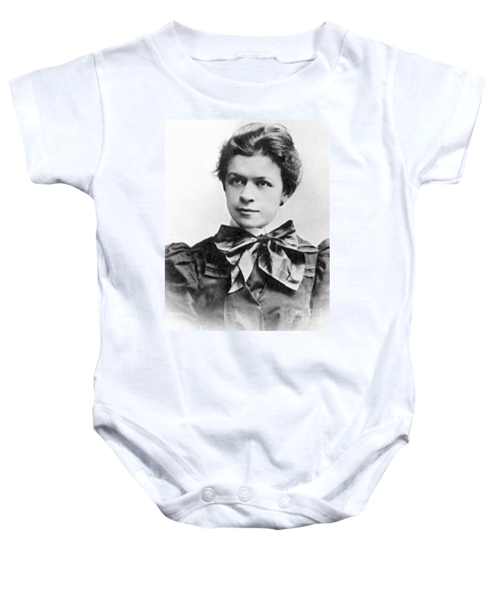 19th Century Baby Onesie featuring the photograph Mileva Maric (1875-1948) by Granger