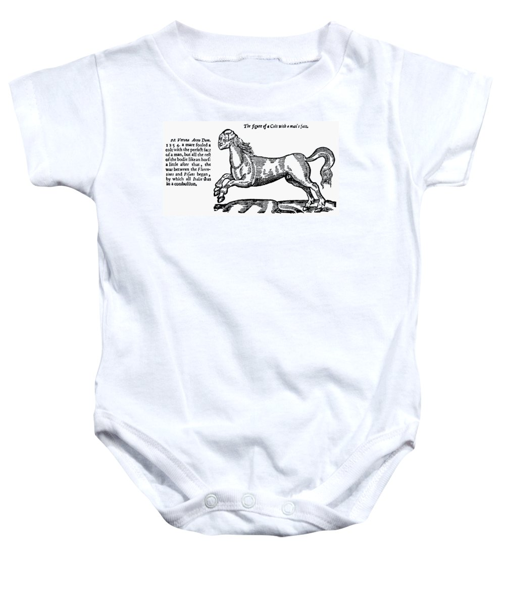 1254 Baby Onesie featuring the photograph Monster by Granger